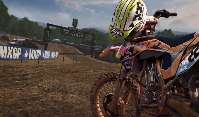 moto cross simulator