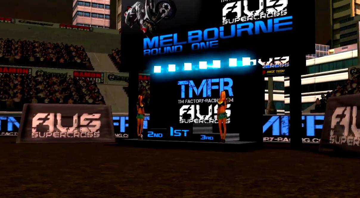 Trailer du championnat SX Australien sur MXS Concept