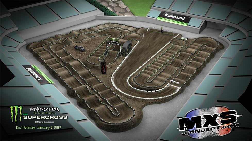 Résumé SX AMA 2017 Round 1 - Anaheim 1